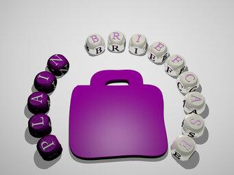 plain briefcase