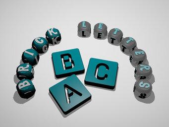 brick letters