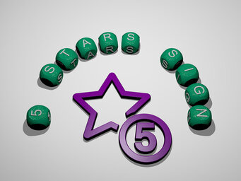 5 stars sign