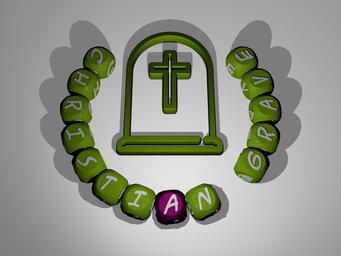 christian grave