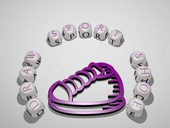 draw sport shoe