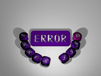 error sing