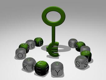 euro key shape