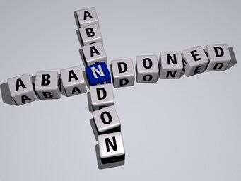 abandoned abandon
