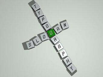 slogan typography